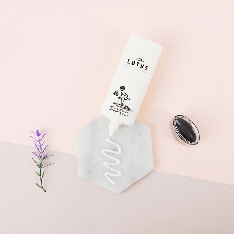 JEJU LOTUS LEAF EXTRACT SLEEPING MASK