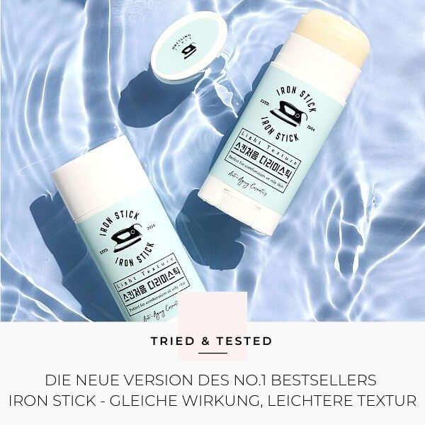 Koreanische Kosmetik: Iron Stick Light Texture von Dressing Table im Test