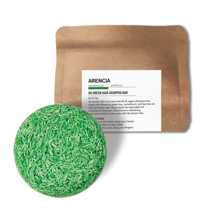 ARENCIA GO GREEN SHAMPOO BAR