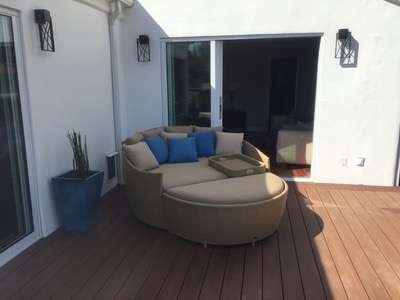 La Jolla Wicker Round Day Bed