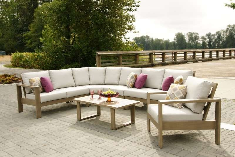 Cast Aluminum Round Sofa Sectional