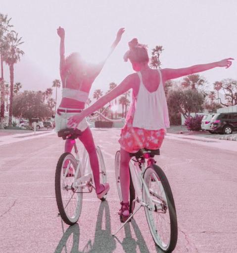 Rosy Glow Fragrance Scent Persona Bikes