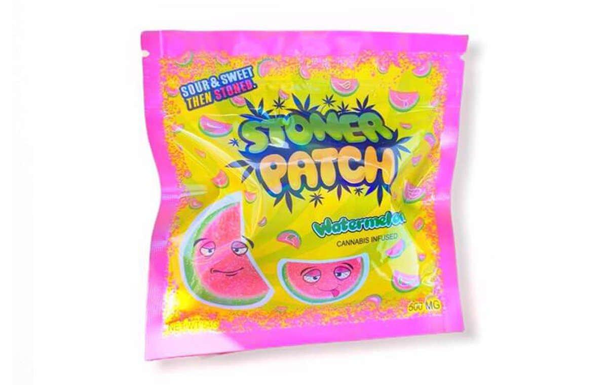 Watermelon Flavor Edible Gummies