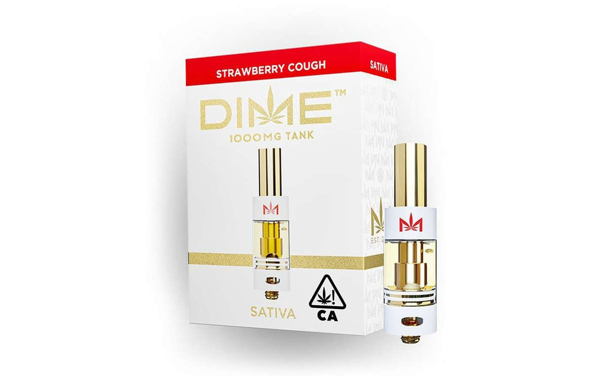 Strawberry Cough Cartridge Available for Weed Delivery
