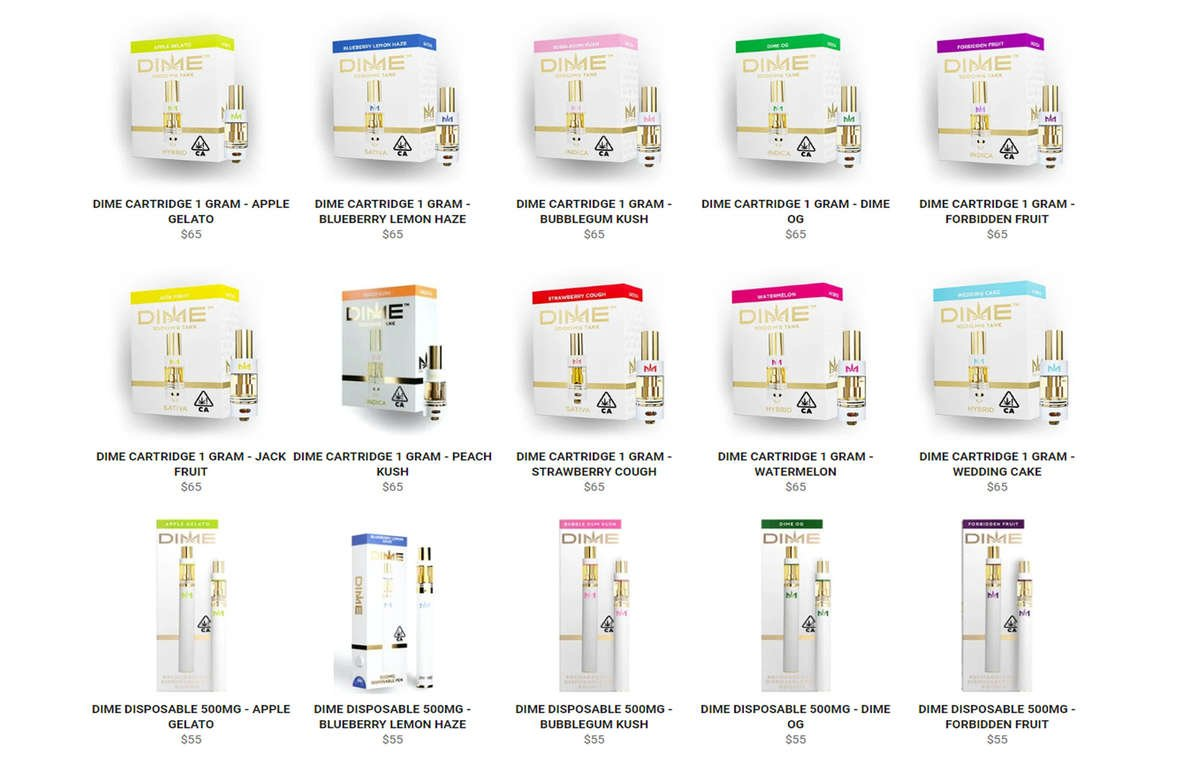 View all THC Cartridges
