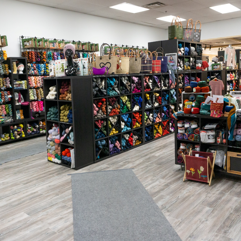 local yarn store and knitting shop