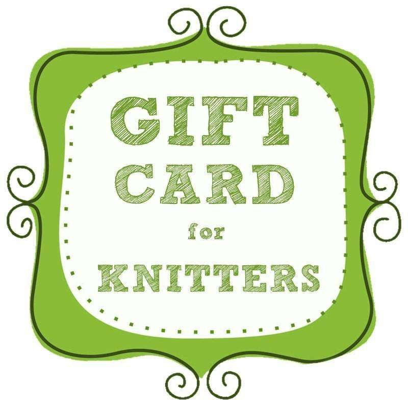 gift cards for knitters