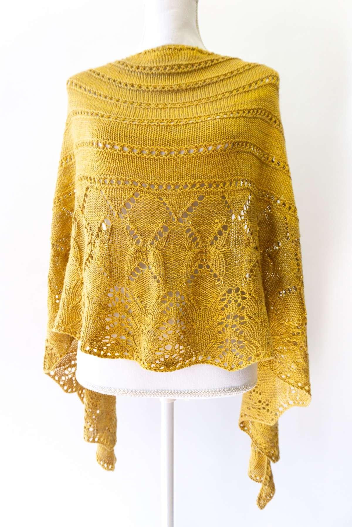 Gift for knitters - Shawl knitting kit