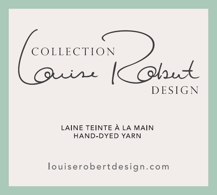 laines teintes à la main Louise Robert Design