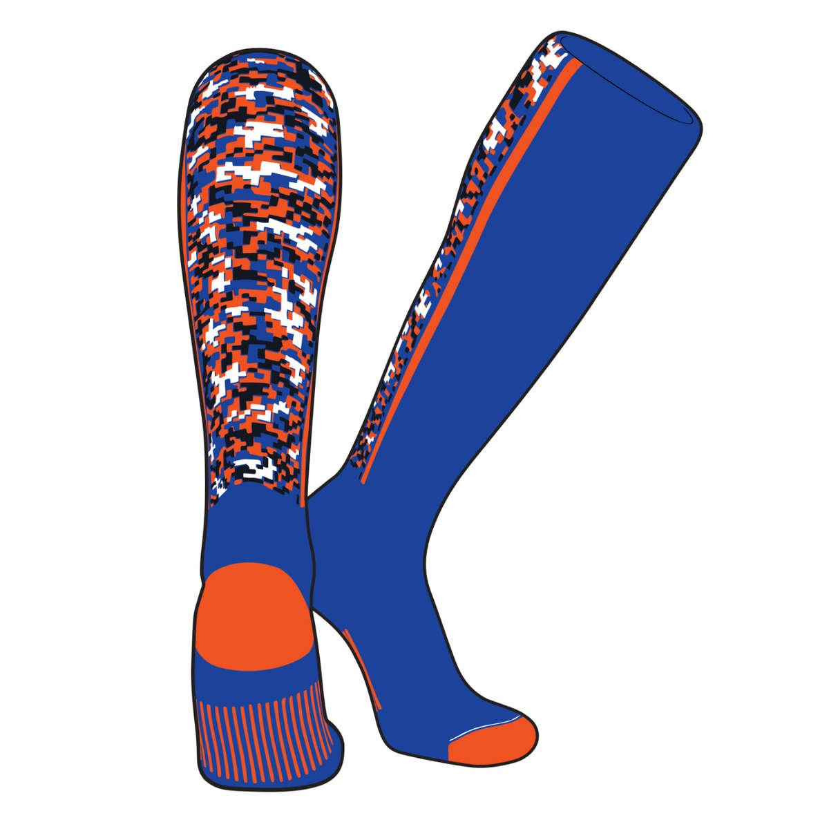 TCK Custom Knit-In Stirrup Socks
