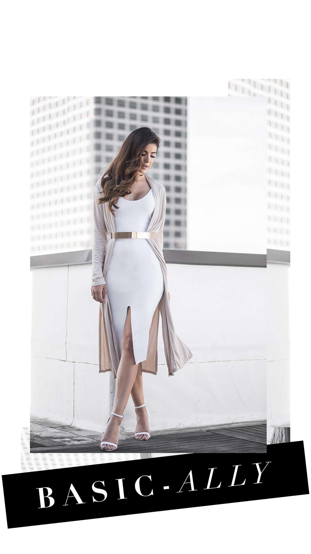 bombshell duster valencia dress