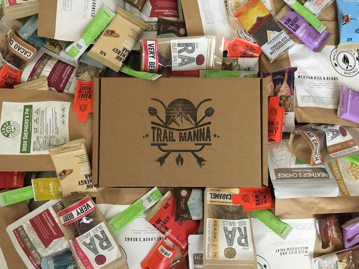 Trail Manna Backpacker Monthly Food Subscription