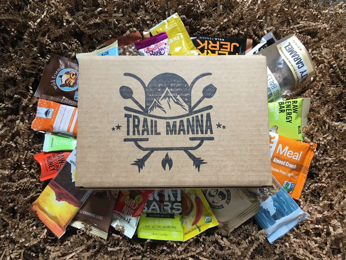 Trail Manna Day Hiker Monthly Snack Box