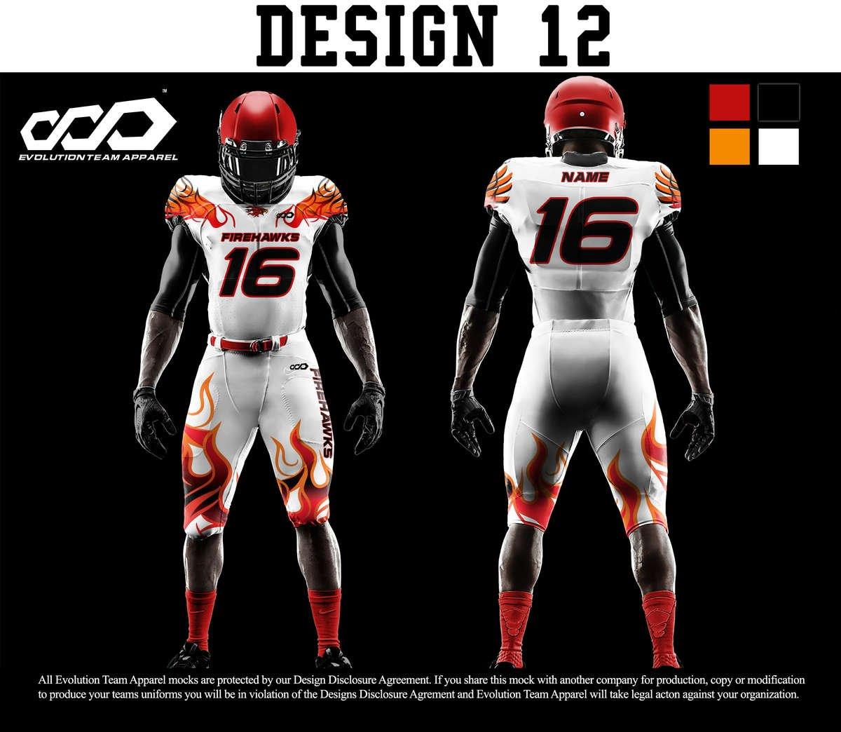b6079db1138 Full Custom Football Uniforms