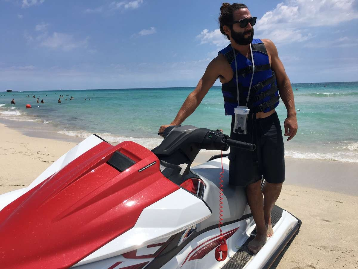 AquaVault waterproof phone cases  use while on  your jet ski