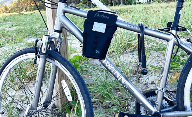 Portable safe for your bike