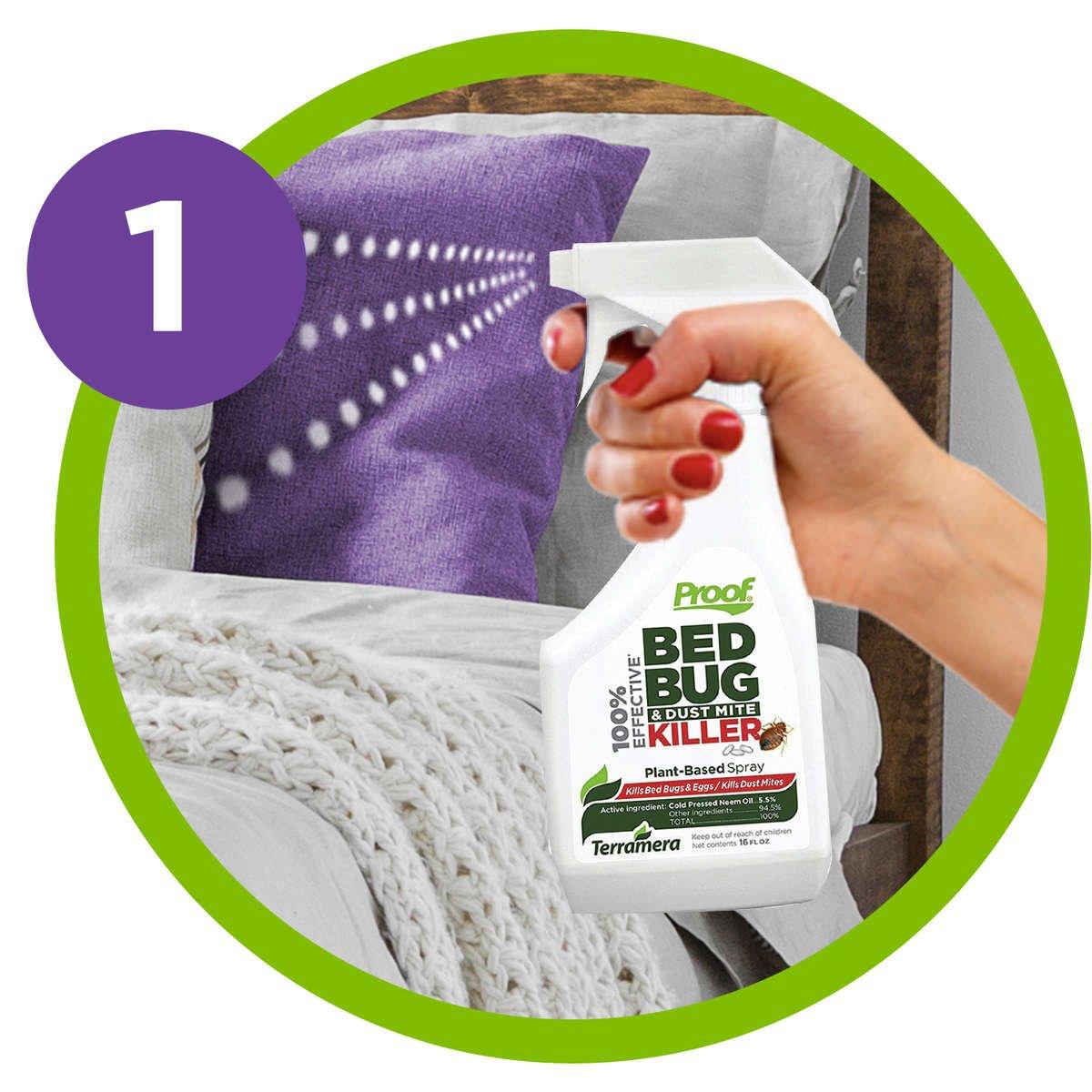 Proof Bed Bug Dust Mite Killer