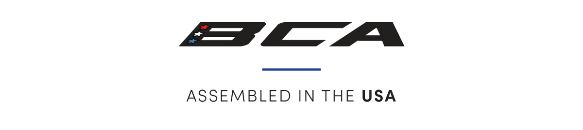 BCA   Assembled in the USA