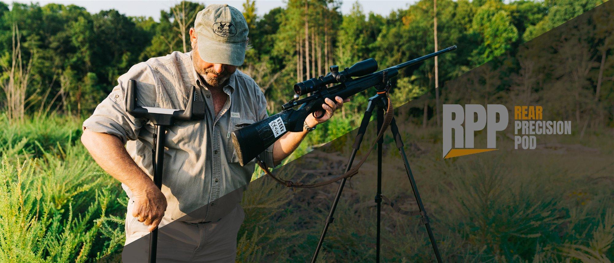 RPP - Rear Precision Pod gun stabilization system