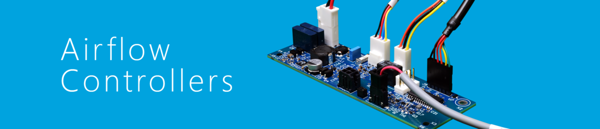 Airflow controllers custom built for industrial airflow management applications.