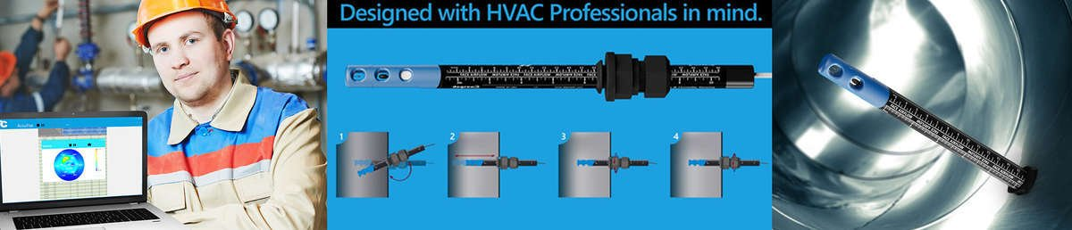 HVAC flow meter that serve dual function by also measuring velocity or other variables like humidity and pressure are used in industries like electronics, HVAC, and bioscience.