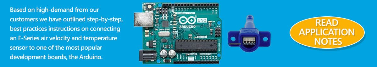 Instumentation for collecting data fromArduino board airflow and temperature sensors.