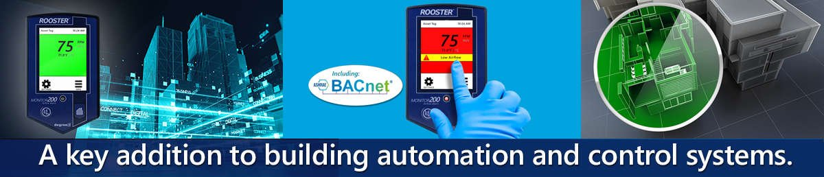 BACnet controlled monitor for critical containment applications where airflow is to be monitored, alarmed, and communicated to building management systems (BMS).