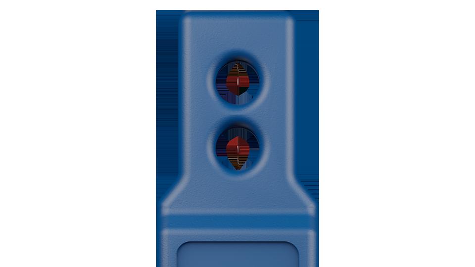 Airflow sensor with dual sensing of air velocity and air temperature.