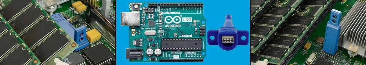 Arduino Board mount temperature sensor that is easy to install including board bount options that can be directly soldered or soceted to PCBA.