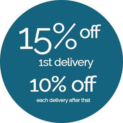 Save 15% Off Your First Subscription Delivery
