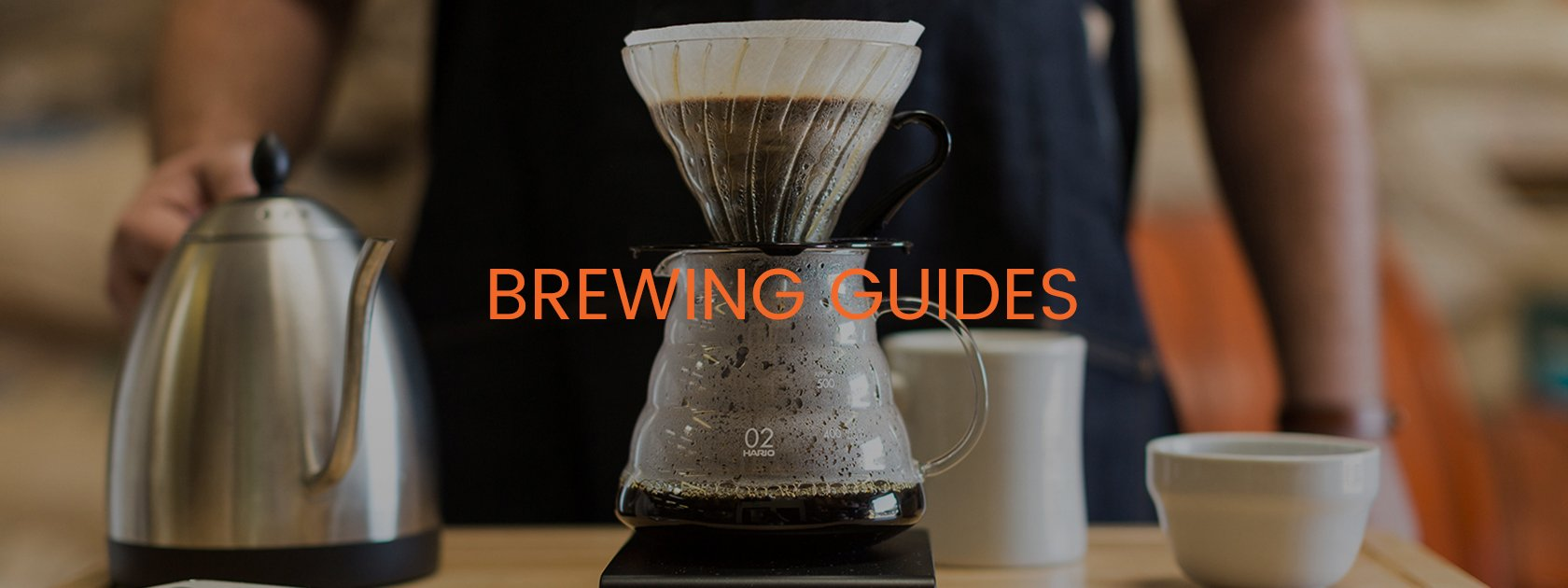 BREWING GUIDES - V60 POUR OVER