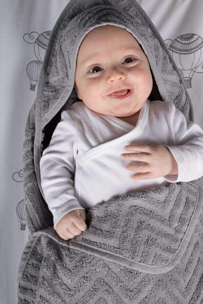 Filibabba badeslag håndklæde til baby