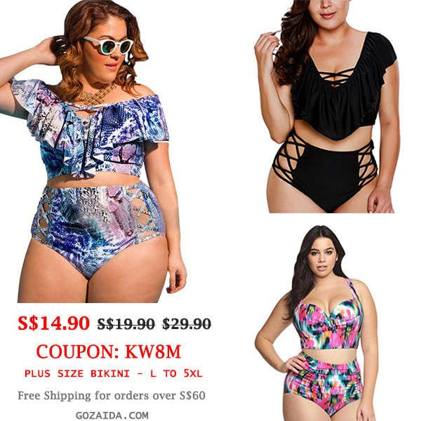 Plus Size Bikini Sale
