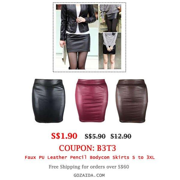 Bodycon Skirts S to 3XL