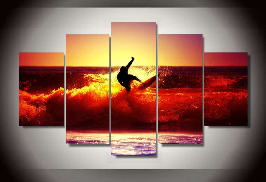 Thereu0027s No Better Way Than Hanging Up This Trendy U0026 Fresh Multi Panel Wall  Art.