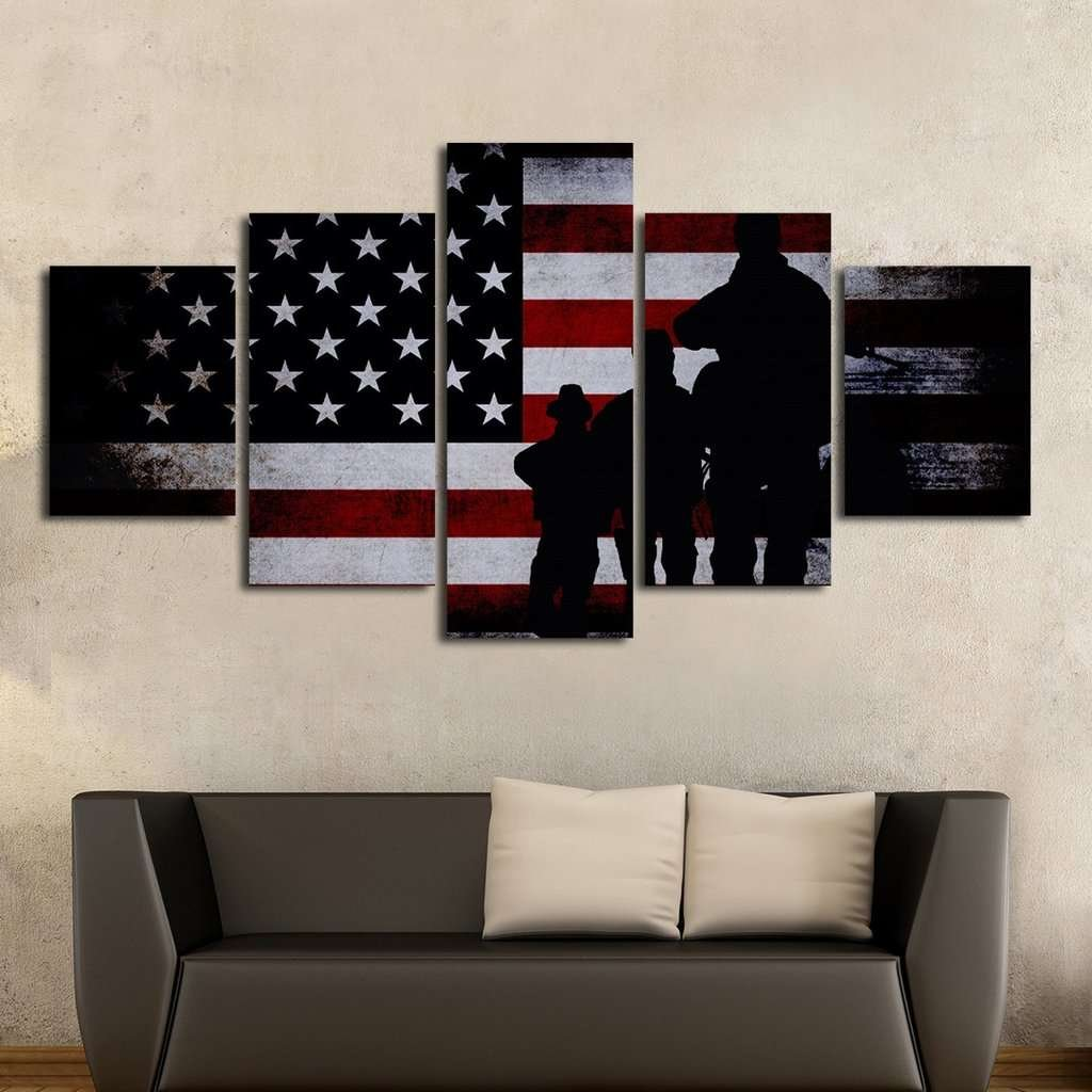 Amazing The U201cAmerican Wayu201d Can Be Seen As Soon As You Use This Amazing And  State Of The Art Canvas In Your House.
