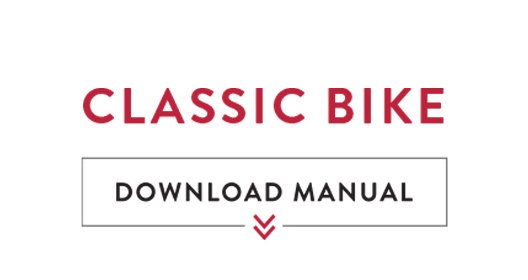 Download our Classic Bicycle Manual
