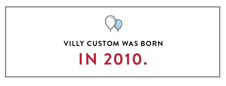 Villy Custom Birthday Year