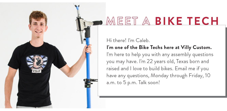 Meet Caleb - A real life bike tech!