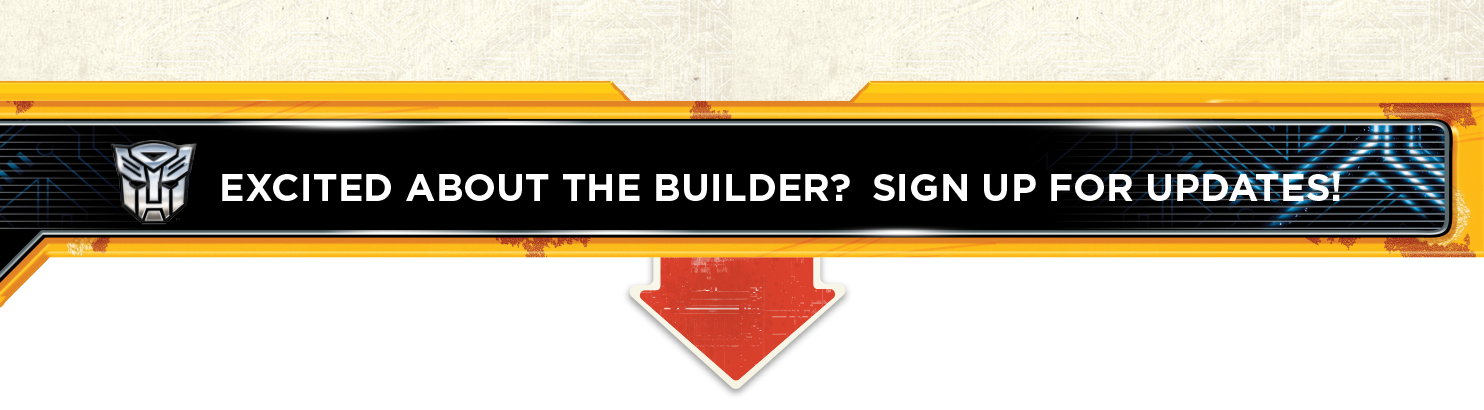 Excited about the builder? Sign Up for Updates!