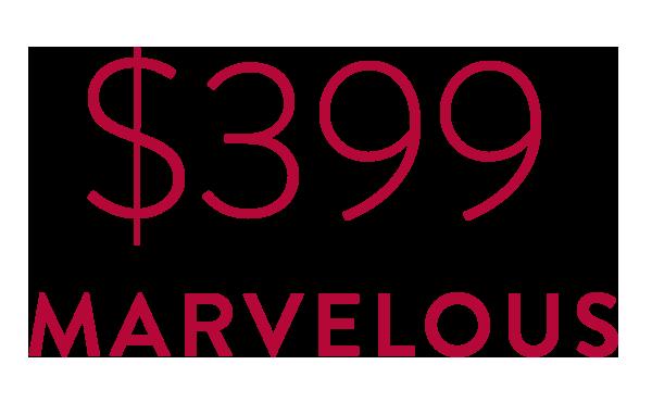 $399 Marvelous