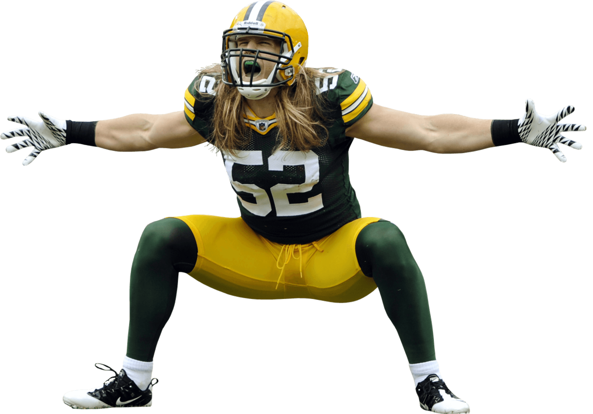 Clay Matthews Superstar NFL Green Bay Packers