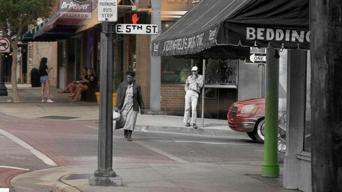 Then & Now Art®: Evans Street [1955/2017]