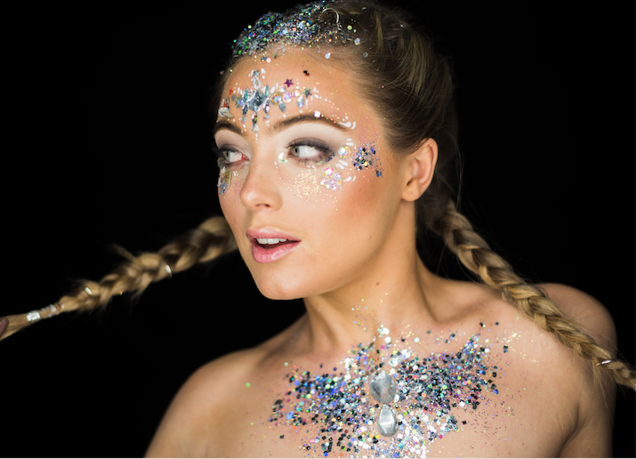 glitter braids for festival glitter ideas page