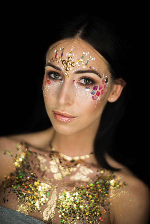 gold festival glitter ideas
