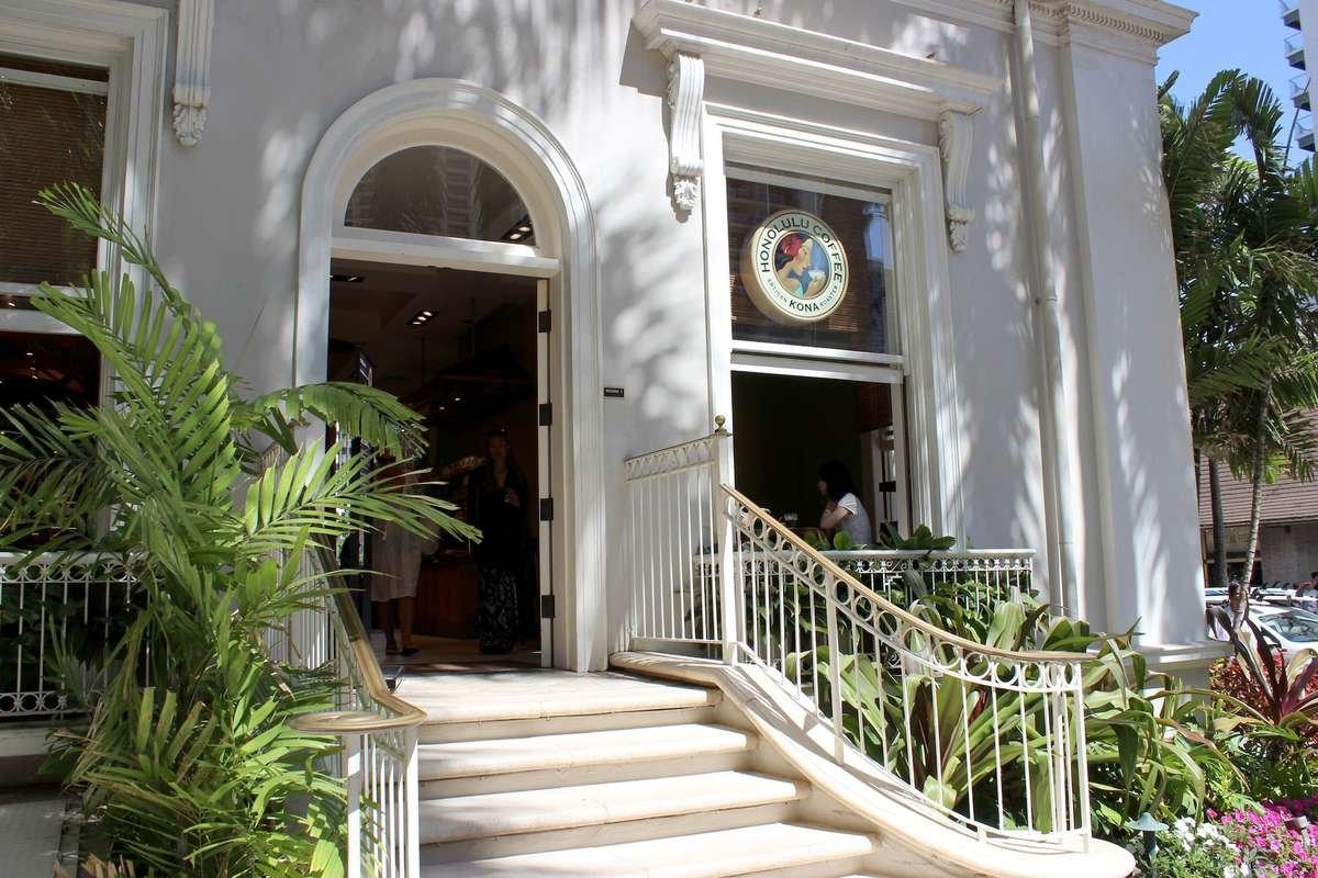 Honolulu Coffee Moana Surfrider Cafe