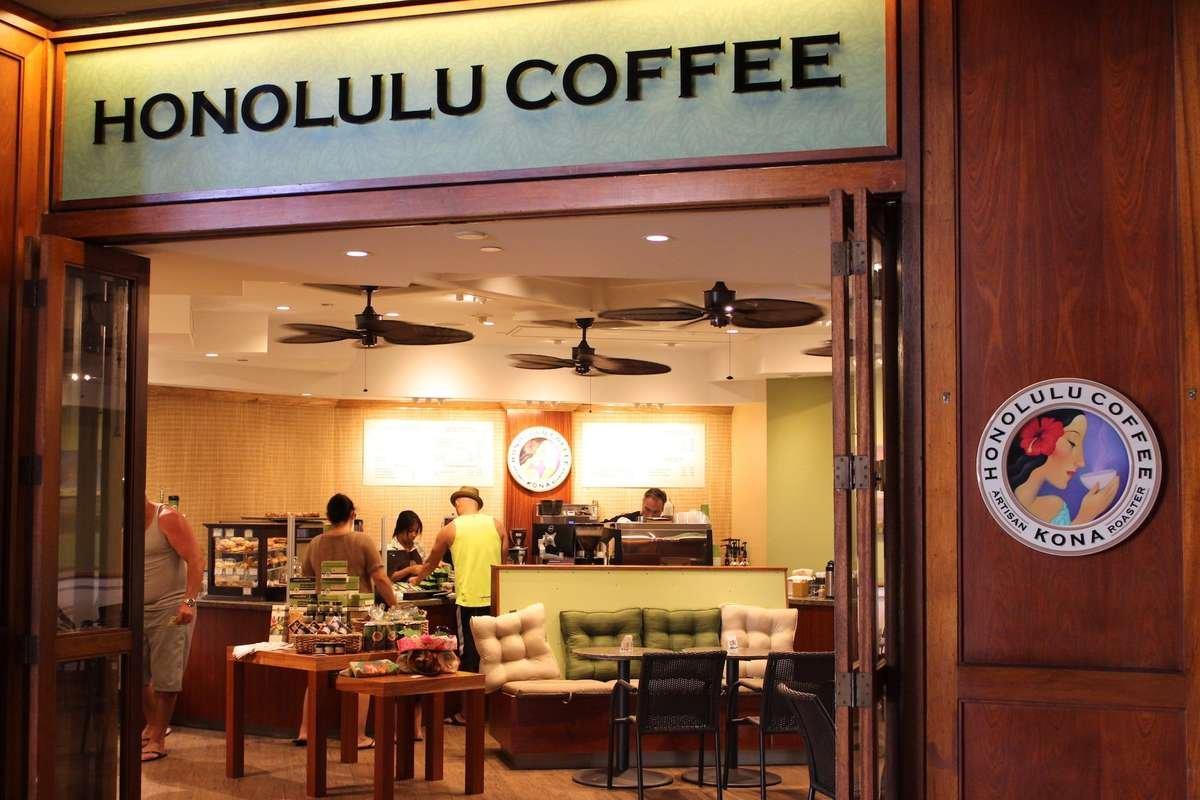 Honolulu Coffee Hyatt Regency Maui cafe