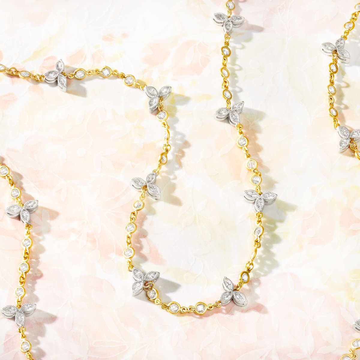 Shop FREIDA ROTHMAN Petal Station Necklace