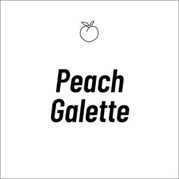Peach Galette Recipe Page