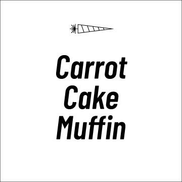 Carrot Cake Muffin Recipe Page